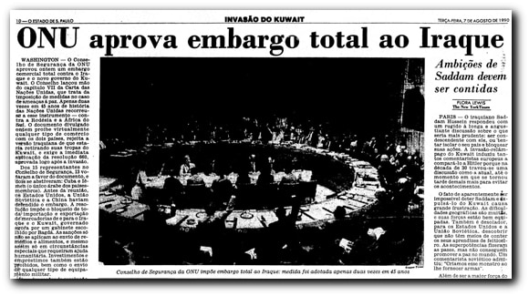 EmbargoIraque_Acervo_Estadao