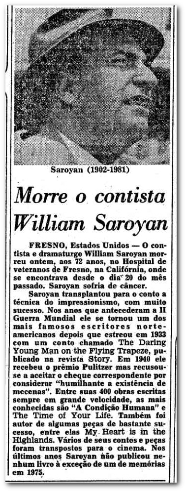 1981WilliamSaroyan_blog_EstadaoAcervo