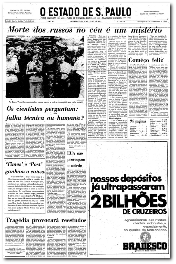 1971MorteAstronautas_blog_EstadaoaAcervo