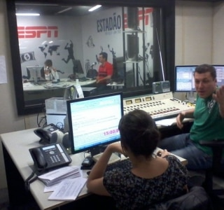 A adrenalina do rádio