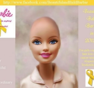 Campanha no Facebook pede Barbie careca