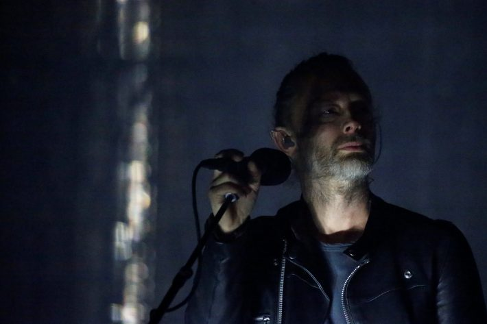 Lead singer of Radiohead Thom Yorke performs on the opening day of the Coachella Valley Music and Arts Festival in Indio, California, U.S., April 14, 2017.