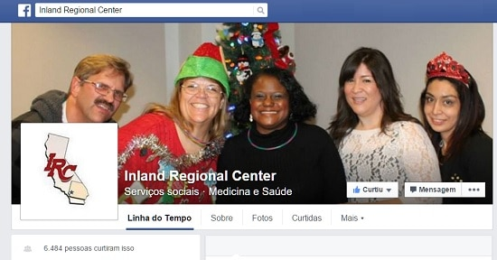 Acesse https://www.facebook.com/inlandregionalcenter/